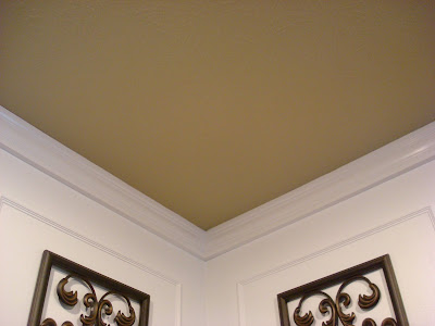 The fifth wall and another dining room reveal from Rules for painting ceilings