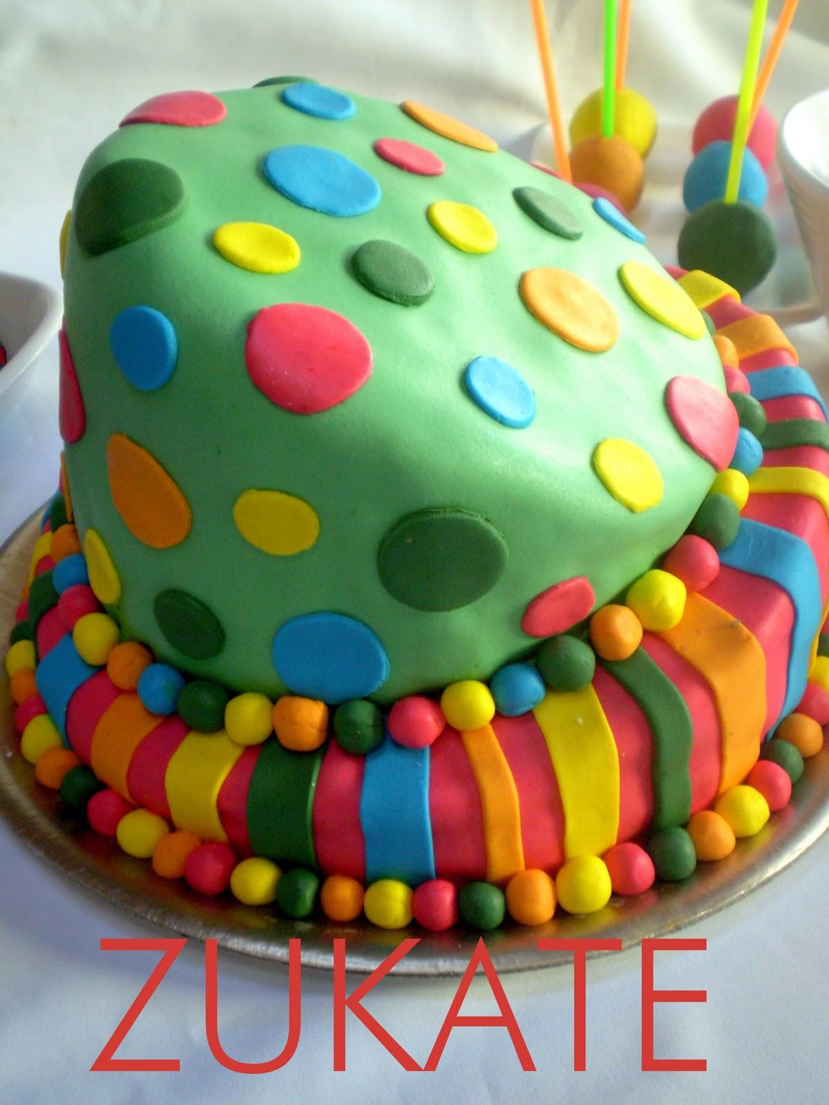 Tortas coloridas - Imagui