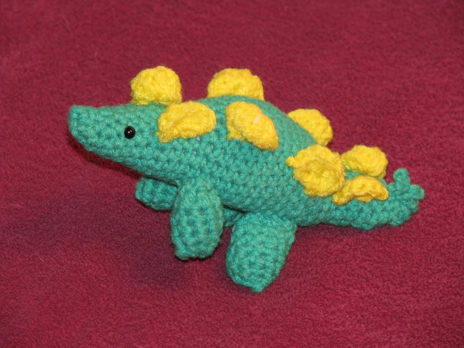 Craft Attic Resources: Dragon and Dinosaur Knit and Crochet Free Patterns