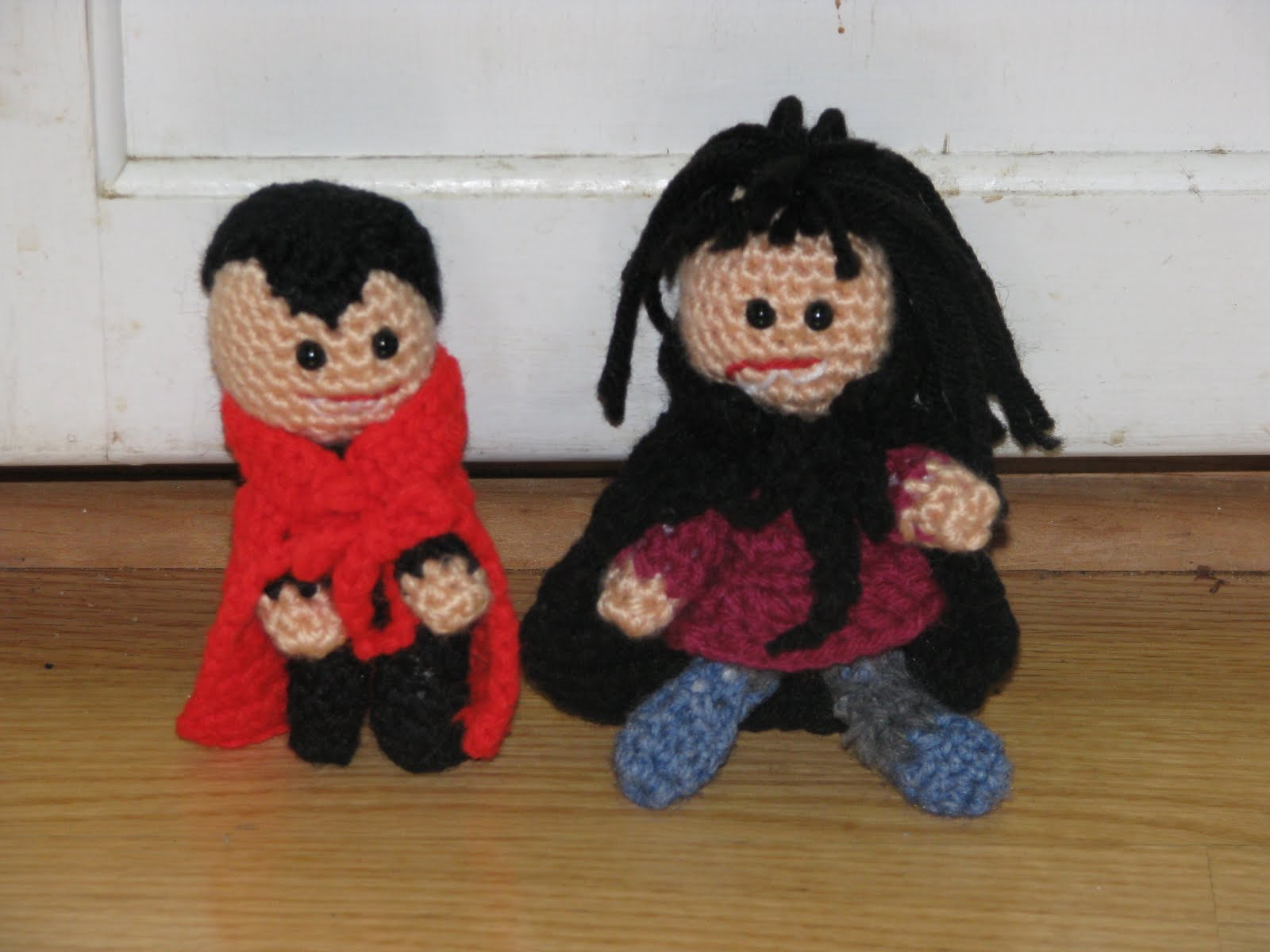 craft attic resources: female vampire amigurumi