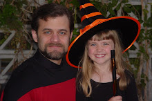 Witchy Belle, and Dad the Dork from Ork