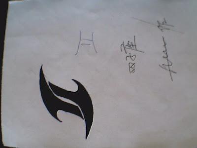 a free Gemini tattoo flash