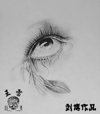 eye tattoo flash