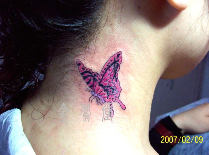 Great Pink plumeria tattoo on the hip. Very cute and feminine Source: