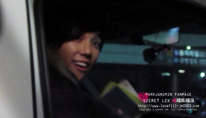 Jung Min De nuevo en Seúl en la víspera de Navidad 11