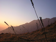 tramonto sul San Mauro