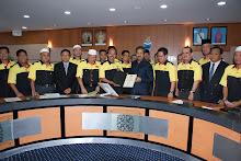 11. Kunjung Hormat Dengan YAB Ketua Menteri Sabah