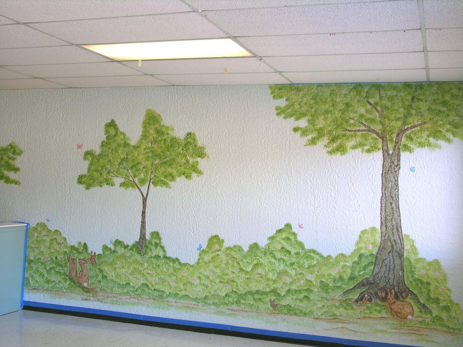 liza bean designs full mural view