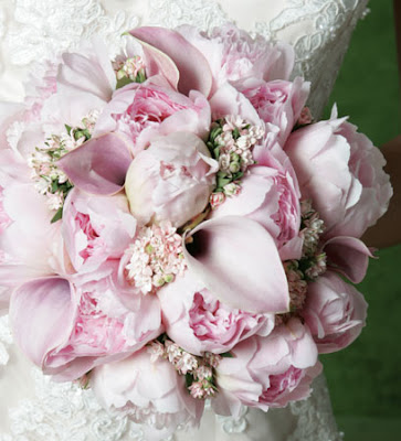 Pink Calla Lily Bridal Bouquet