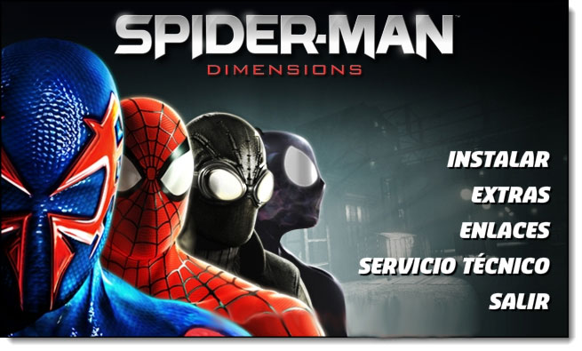 PC Game : Spider Man - Shattered Dimensions RELOADED+CRACK (2010) .