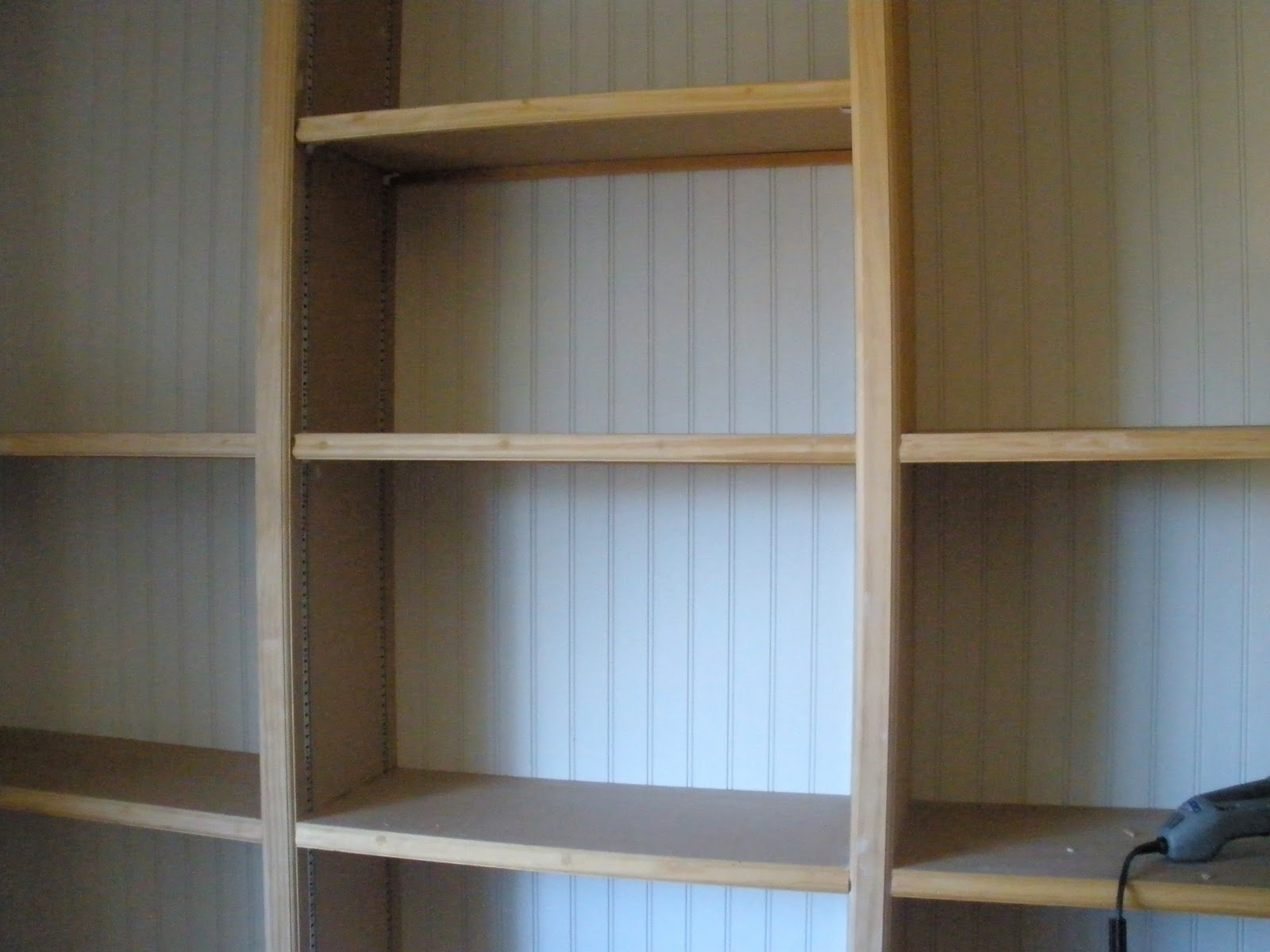 built in bookcase plans to build