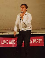 Poet Luke Wright, Edinburgh Fringe 2007