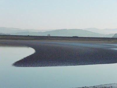 Sandbank at Arnside, Cumbria, UK