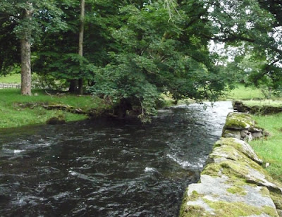 River near Ambleside in British Lake District