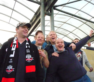 Crowd as Lewes FC beat Bishops Stortford October 2009