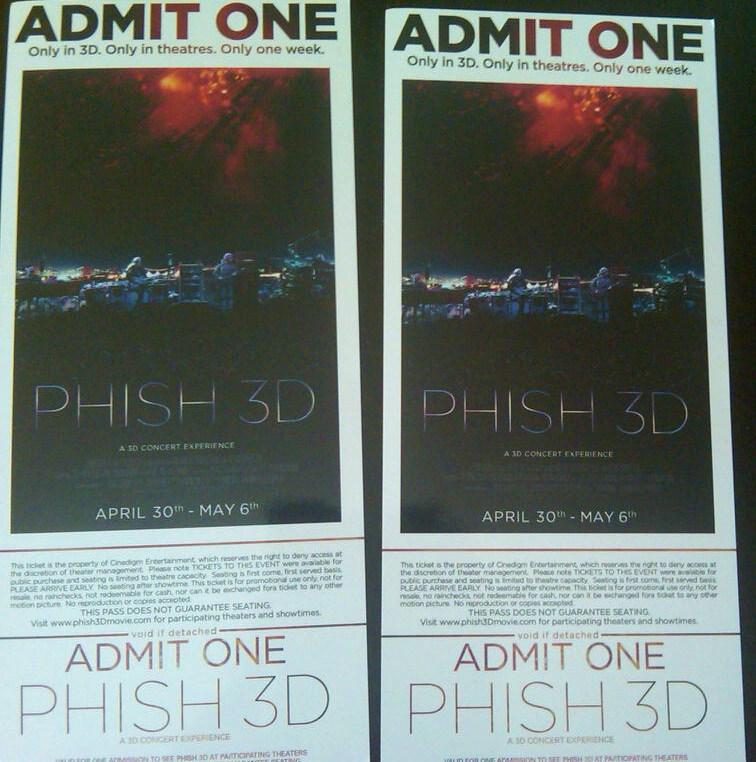 Phish 3d movie