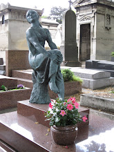 Sculpture at Pere-Lachaise