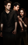 EDWARD, BELLA e JACOB