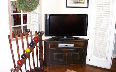 North Carolina Custom Furniture on Shane Custom Made This Corner Tv Stand For The Phillps Family Of North