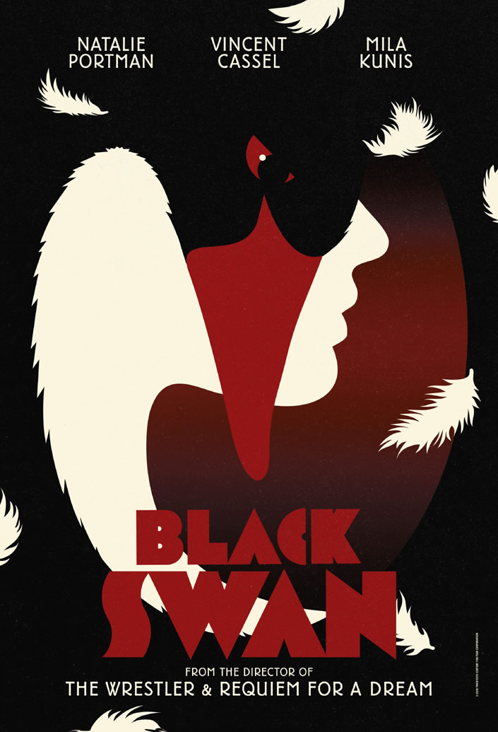 Black Swan Poster Designs