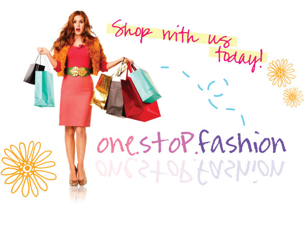 shopaholics shop here !