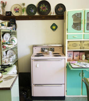 Retro furniture kitchen