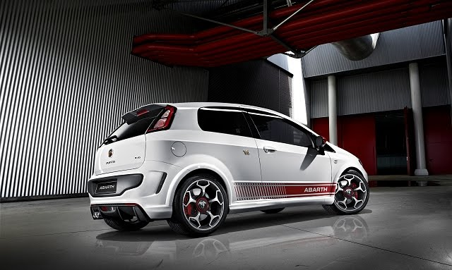 2011 Fiat Punto Abarth Evo technical details