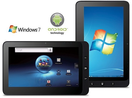 ViewPad 10 Dual Boot Windows/ Android tablet