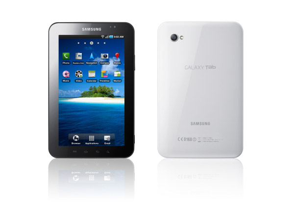 Samsung Galaxy Tab is designed