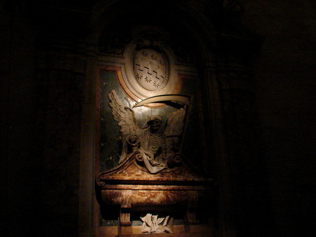 La Muerte en la Basilica de San Pedro in Vicoli