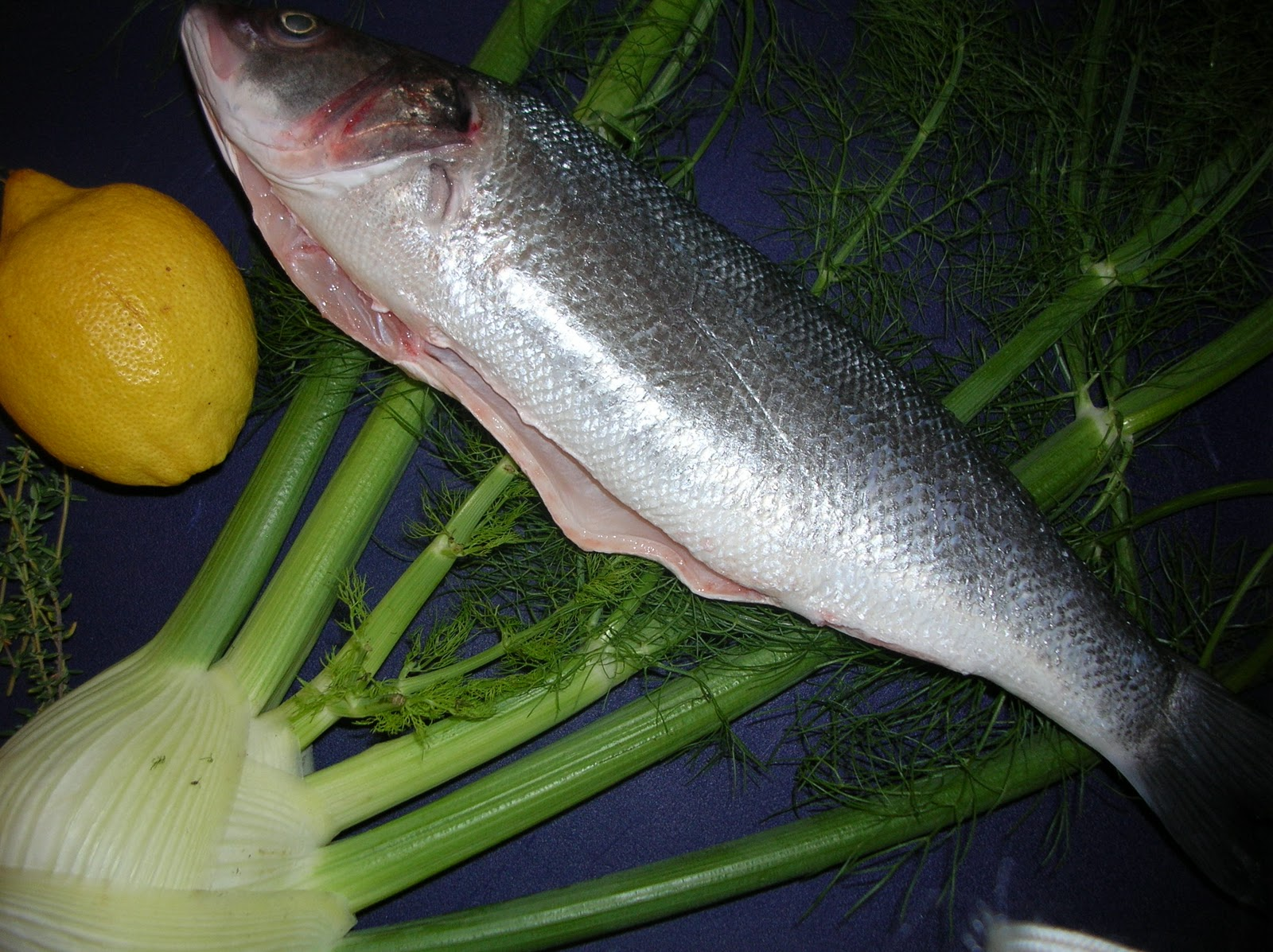 My dinners w richard other musings the one that didn 39 t for What is branzino fish
