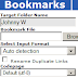 Social Bookmarking Made Easy Using Import - Upload Scheme