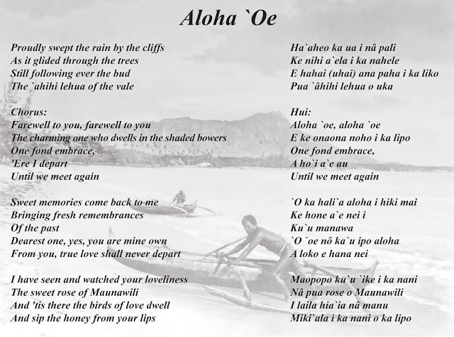 Aloha ʻOe - Wikipedia