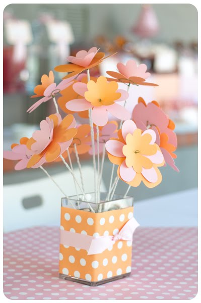 Birthday Party Table Centerpieces. Each birthday party
