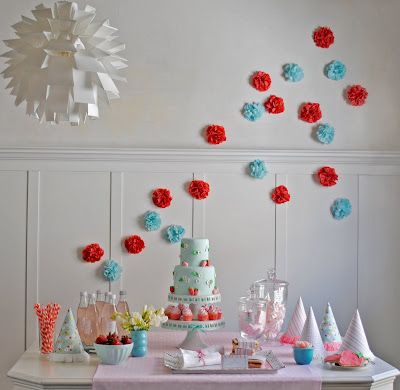 Strawberry Soiree Birthday Party | Kara's Party Ideas