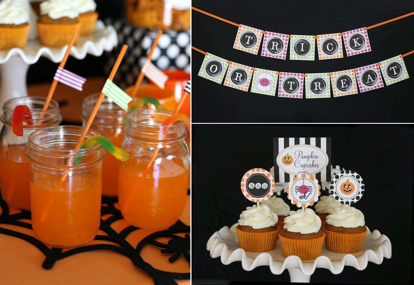 kara's party ideas halloween party treat table! | kara's party ideas