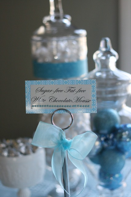 WINTER WONDERLAND BRIDAL SHOWER submitted by Celebrating The Moments By