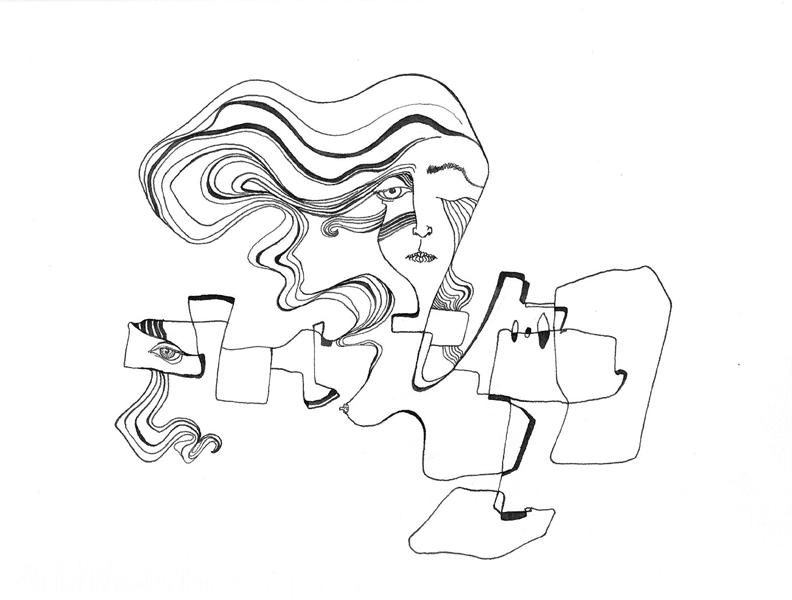 Lucas Rebollo Dibujo Linea Modulada