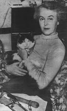 Lorna Hill and the cat