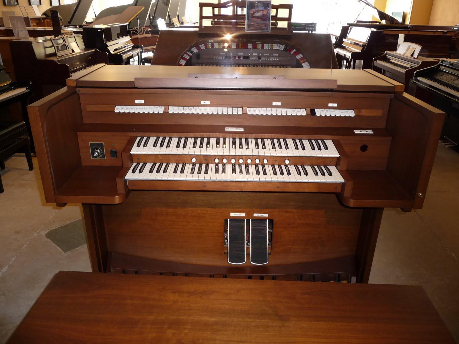 Allen 530 classic organ for Classic house organ bass