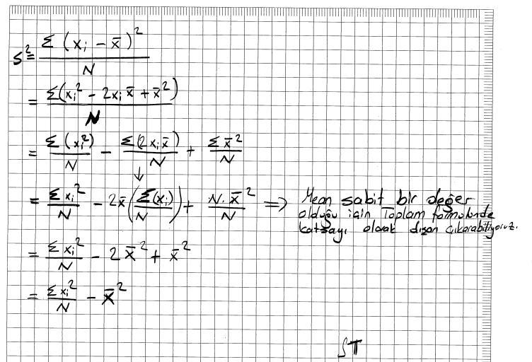 standard deviation formula. Standard Deviation Formula