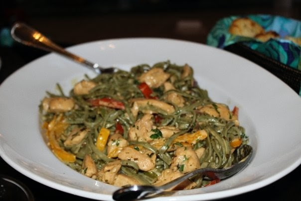 The Tempting Pepper Chicken Tequila Fettuccine