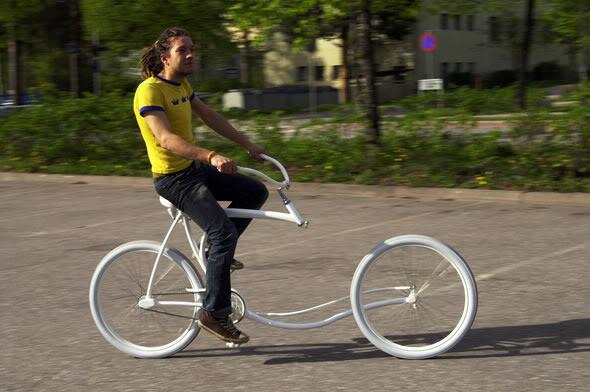 Wow! Sepeda Yang Terlihat Impossible