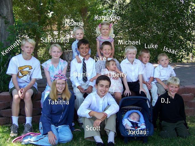 The Sorensen Family Grandkids