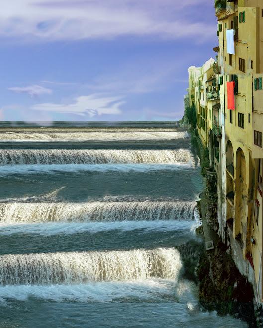 city-falls