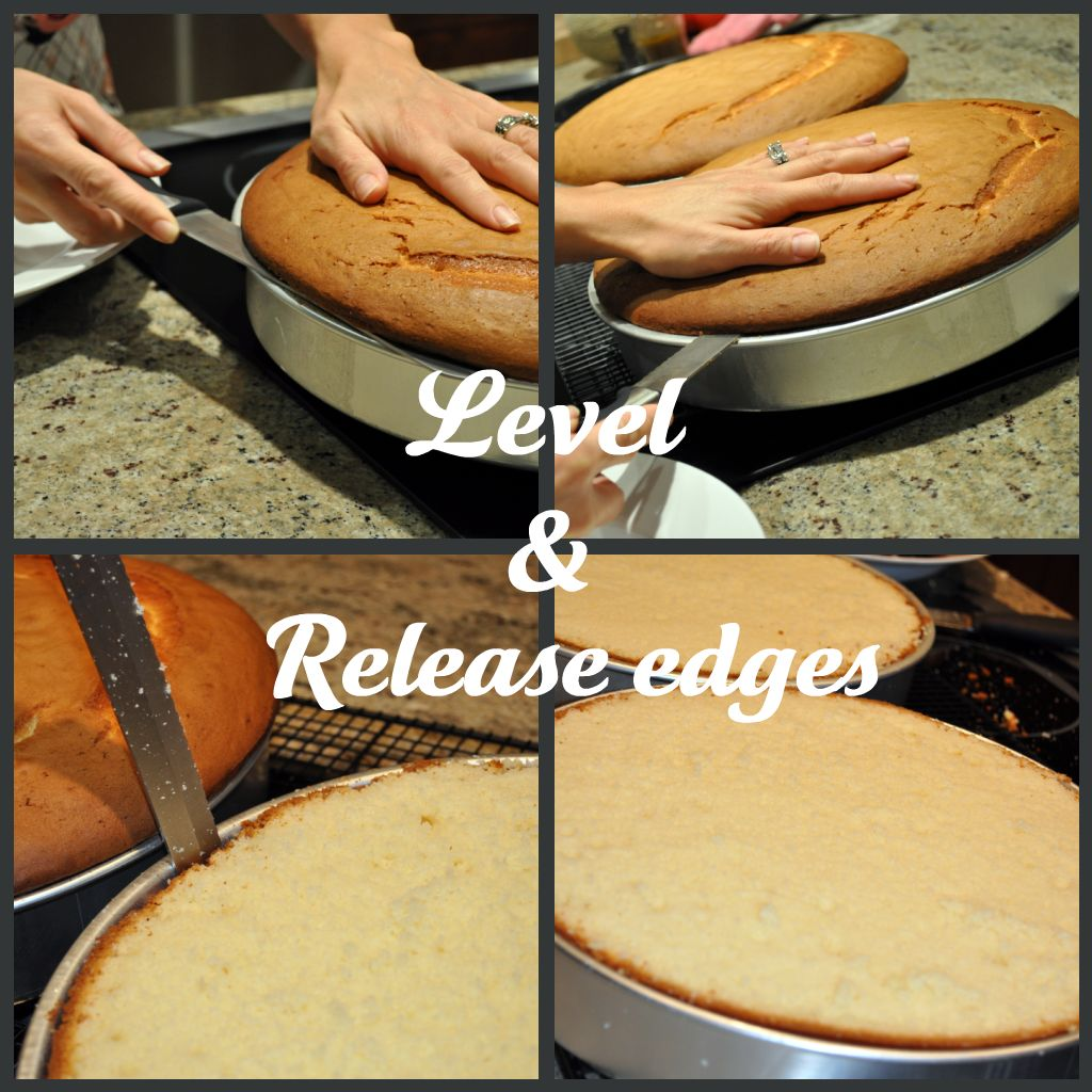 Professional Cakes: Lavender Clouds: How To Bake A Professional Looking Layer Cake