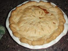peach pie.....mmmmm....