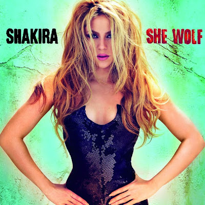 shakira album she wolf. English album, She Wolf.