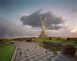 Motherland monument at Kiev