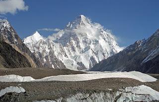 Mountain peaks in Pakistan